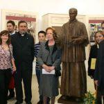 Inauguracion escultura padre rubio